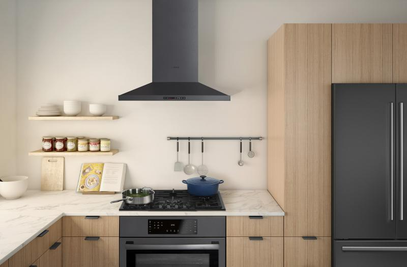 Bosch Appliances black stainless steel kitchen