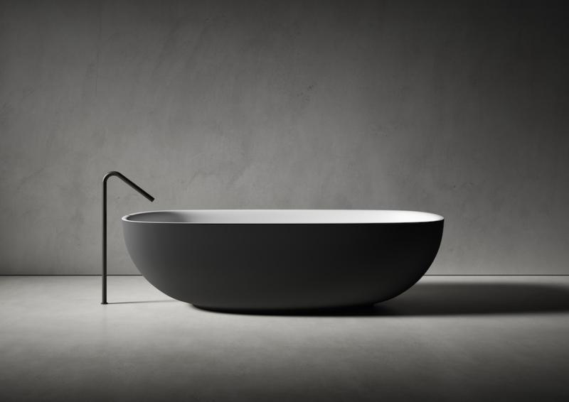 Boffi lissoni Faroe Freestanding bathtub