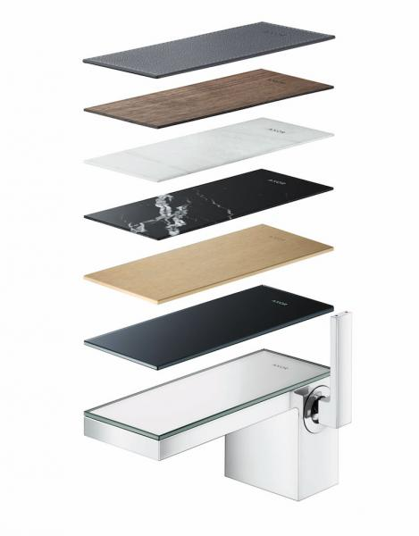 Hansgrohe AXOR My Edition Plate Faucet with Variety coverings