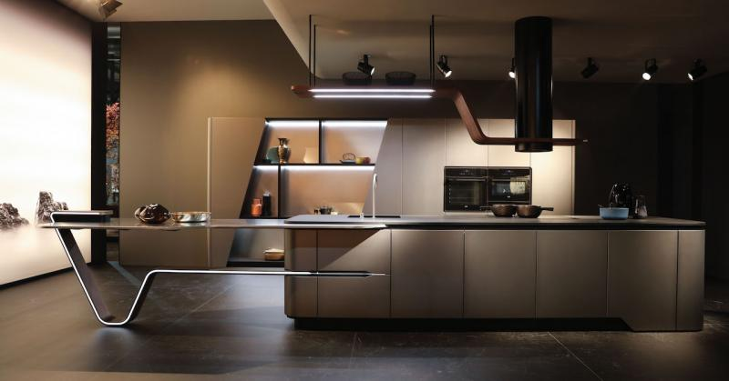 snaidero Vision kitchen line