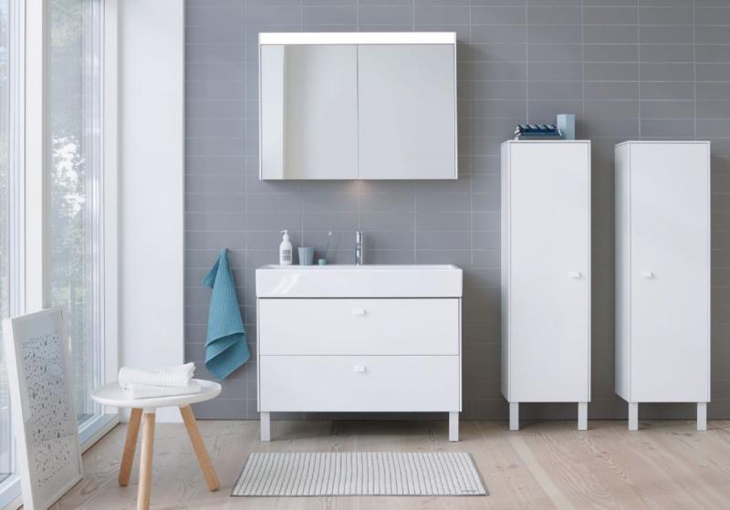 Duravit Brioso bath collection in white