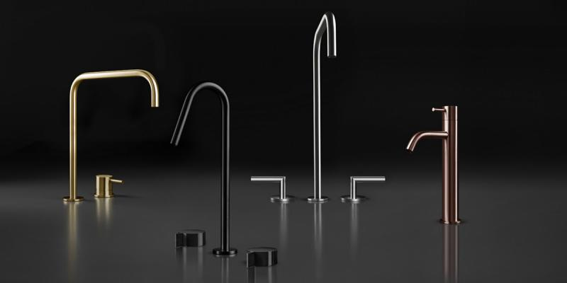 BluBathworks Inox Stainless Steel Faucet Collection
