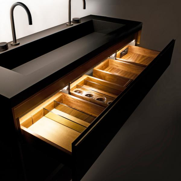 Furniture Guild Avento Lighted Interior Double taps