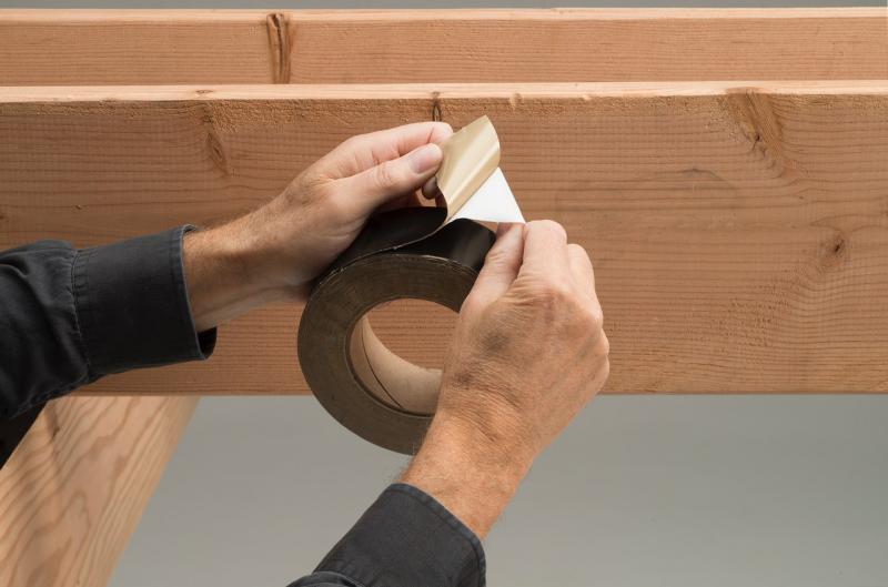 Trex Protect Joist Beam Tape Application