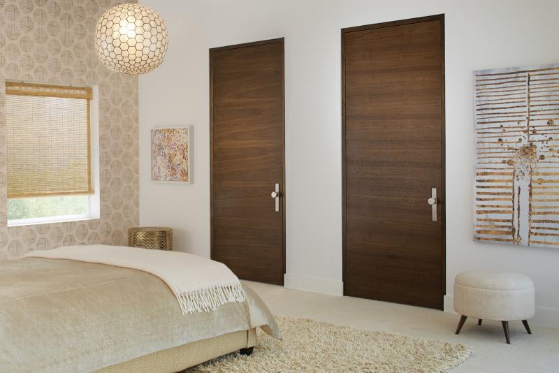 TruStile Doors Tru&Modern Collection Walnut Cappucino Finish