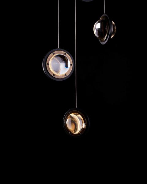 Karice Da Vinci Collection Infinity 1519 Multiple hanging pendants