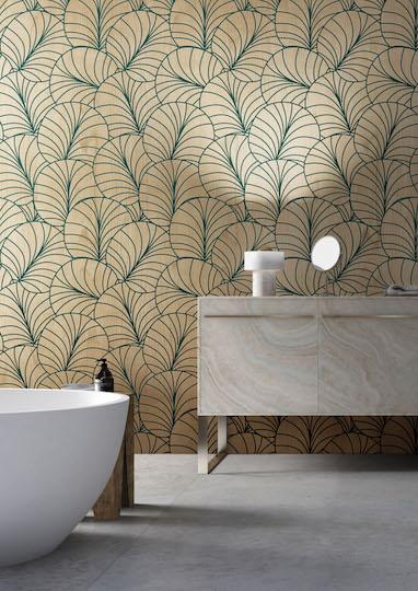 Listone Giordano lineadeko Ventaglio Vanity With Tub