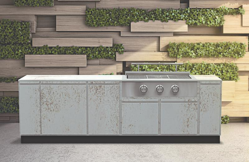 Brown Jordan Outdoor Kitchens Tecno Nilium finish