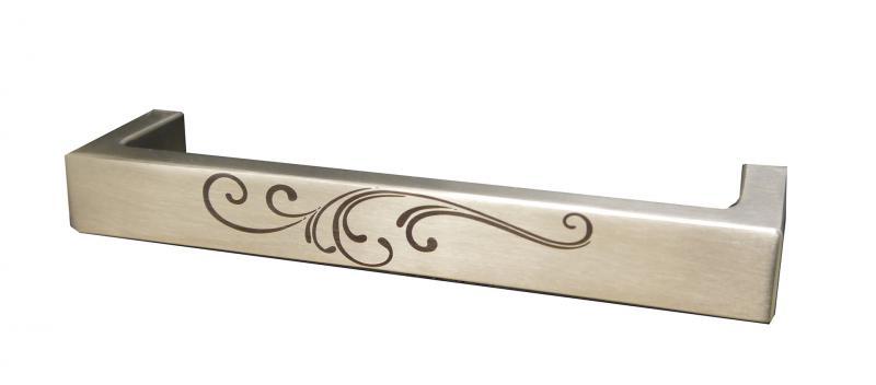 INOX LASER ART CABINET PULL STAINLESS STEEL