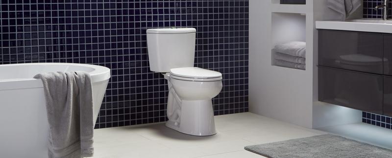 Niagara Nano High Efficiency Toilet Side View