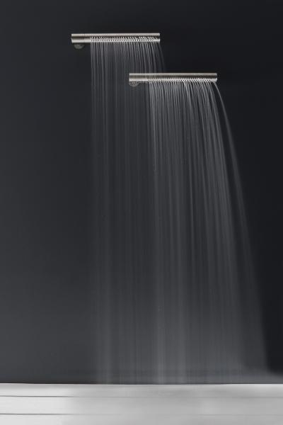 Zazzeri Z316 stainless steel collection horizontal showerhead