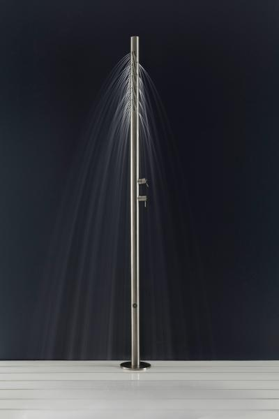 Zazzeri Z316 stainless steel collection shower pipe