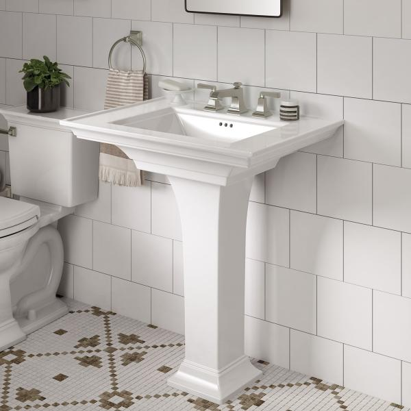 American Standard town square s pedestal sink