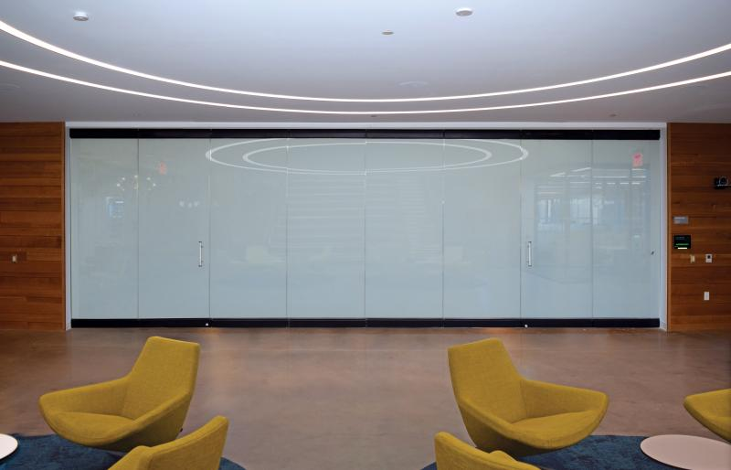 NanaWall Systems WhiteOut Opaque windows