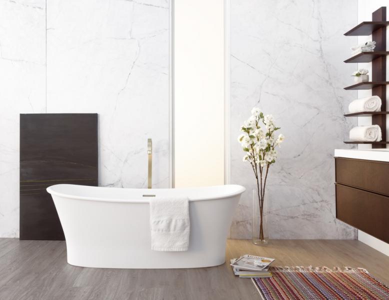 Wetstyle Cloud Bath tub wall hung vanity