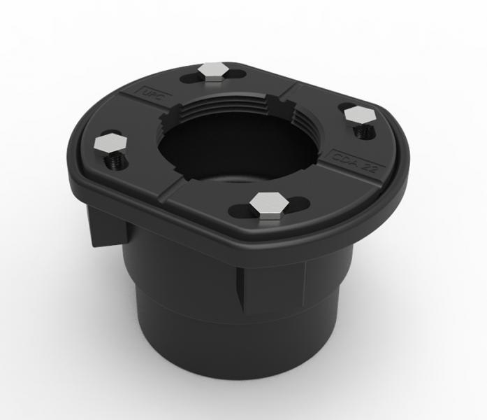 Infinity Drain compact design black