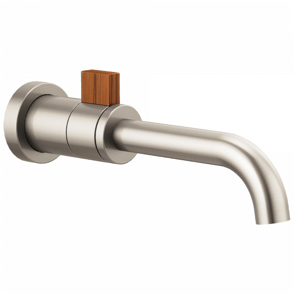 Brizo Litze collection faucet wood