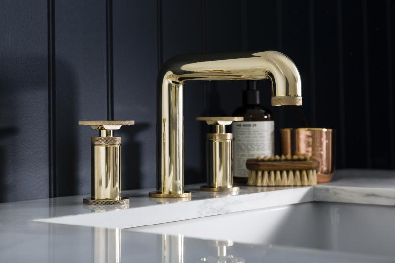7 Crosswater London Union Bath Fittings Collection Lav Faucet Polished Brass