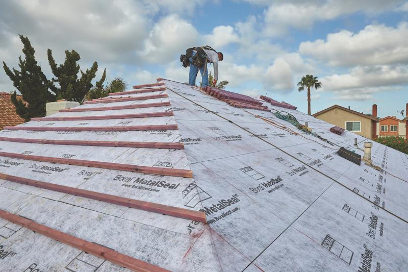 Boral Roofing MetalSeal Underlayment installed