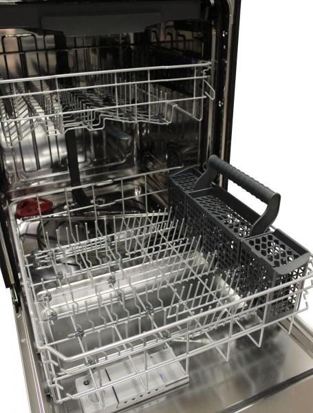 Vinotemp Designer Series Brama Stainless Dishwasher interior