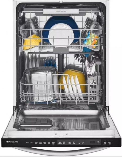 Frigidaire Gallery fully integrated dishwasher