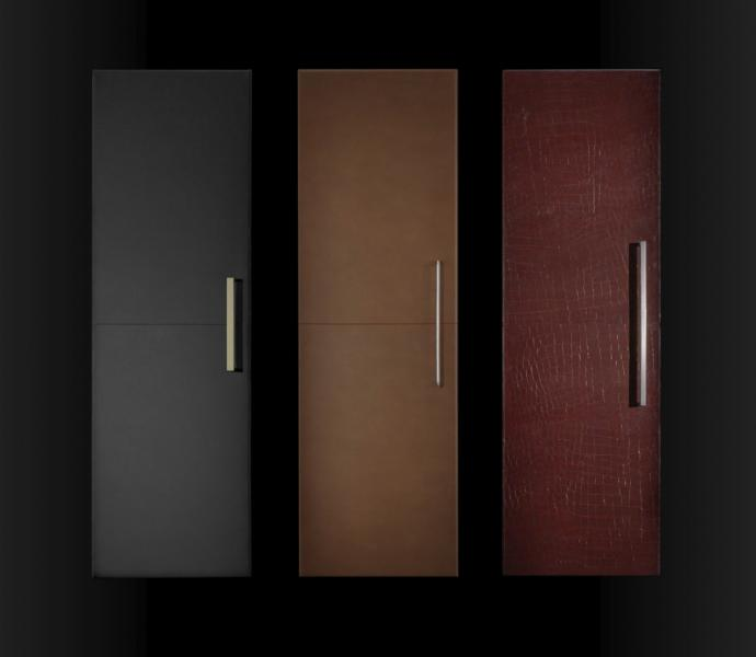JennAir Cuts leather columns refrigerators