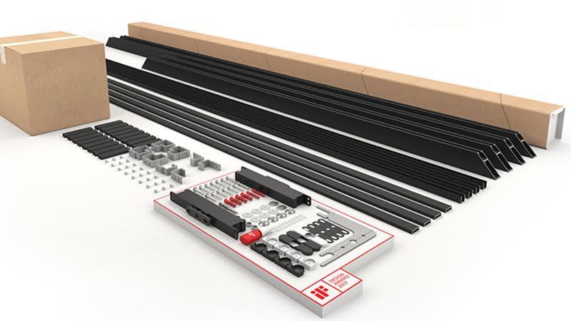 Portapivot 6530 prepackaged interior pivot door system