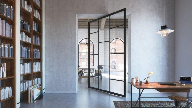 Portapivot 6530 Interior pivot system gray walls