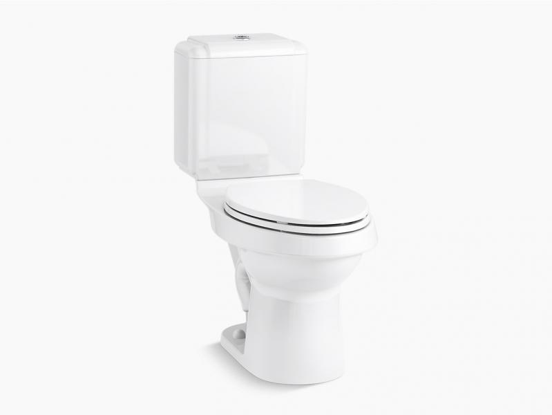 Sterling Plumbing Rockton dual flush toilet