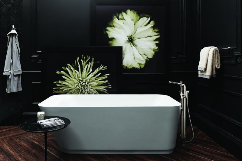 DXV Modulus freestanding tub