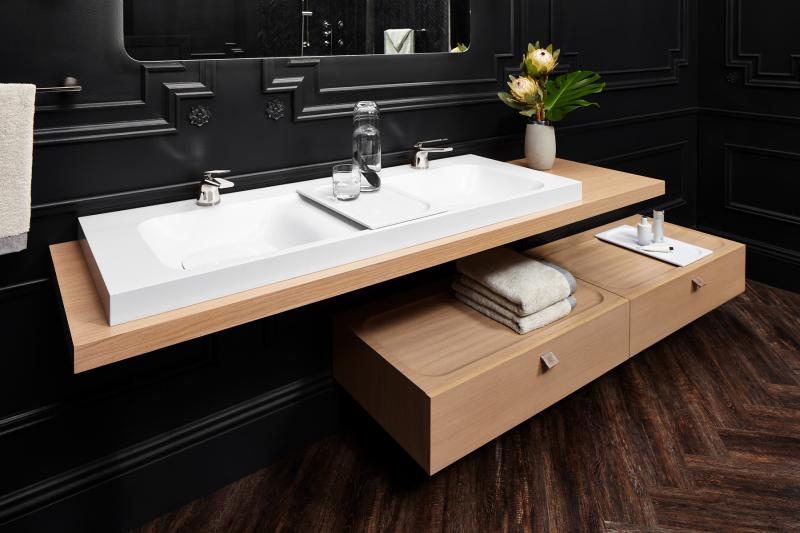 DXV lavatory sinks and vanities