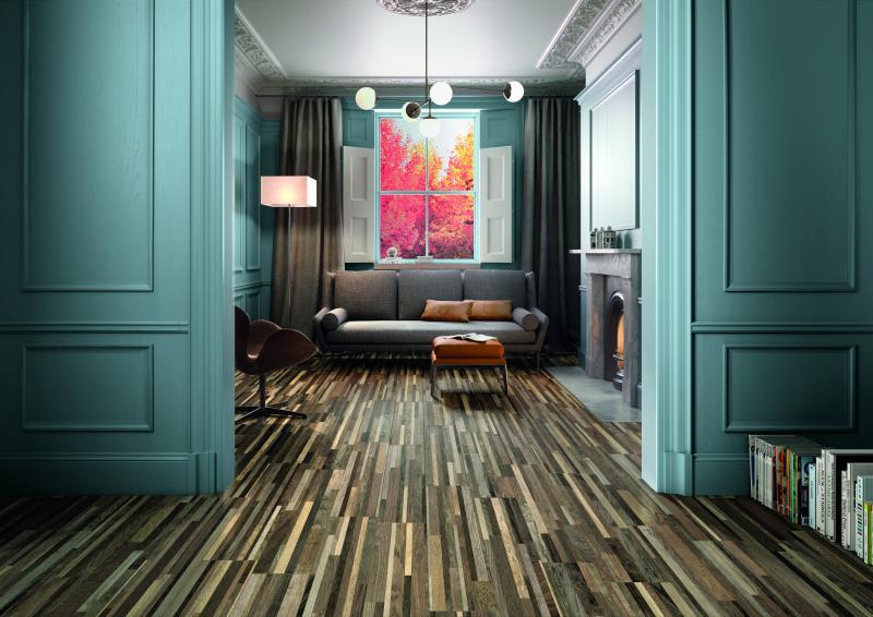 Landmark tile voyage wood look tile
