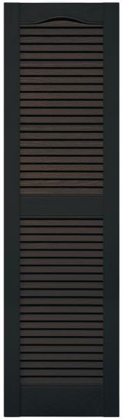 Mid-America open louver exterior shutters