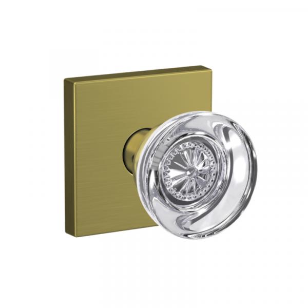 Schlage custom door hardware gold