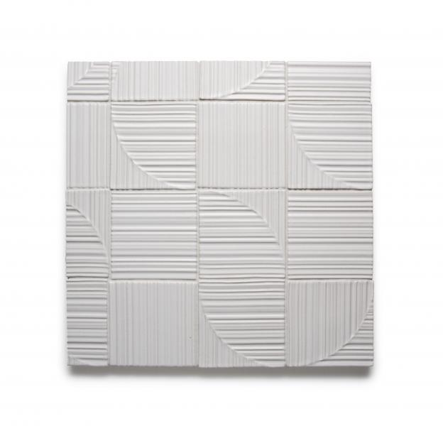 Ann Sacks Groove Deco tiles by Barbara Barry