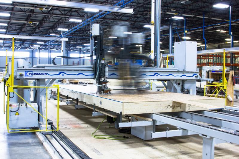 Bensonwood Tektonik prefab factory