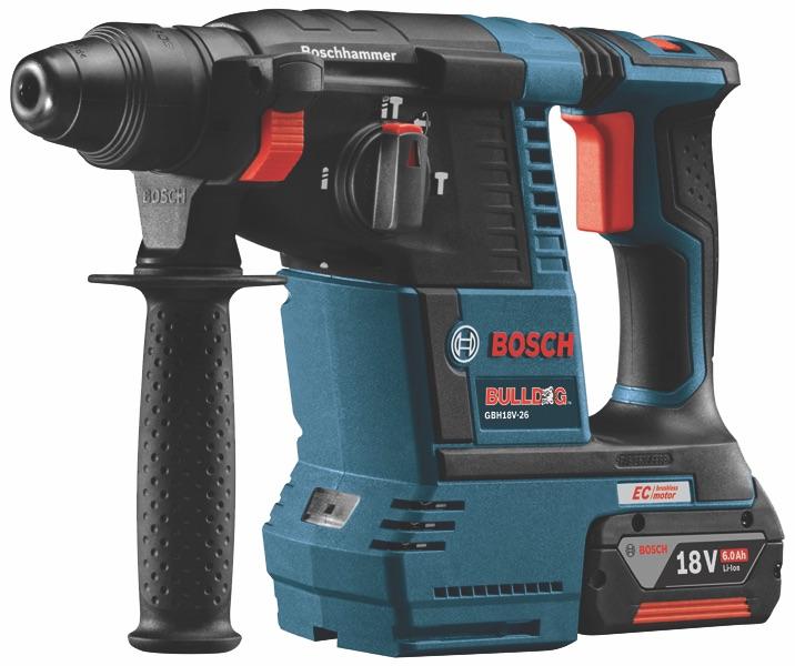 Bosch GBH18V-26 18-volt brushless rotary hammer