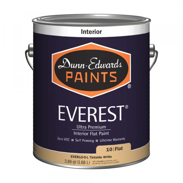 Dunn Edwards Everest paint made in america