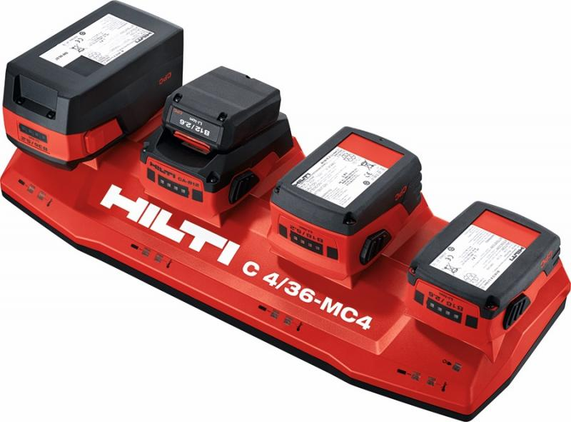Hilti C4/36-MC4 multi-bay tool battery charger