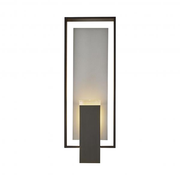 Hubbardton Forge Shadow Box exterior lighting