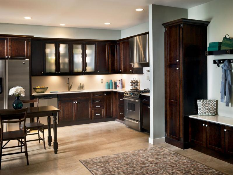 Kraftmaid Low cost of kitchen cabinets