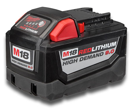 Milwaukee Tool Red Lithium battery