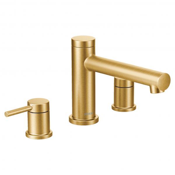 Moen Align gold modern bath faucet