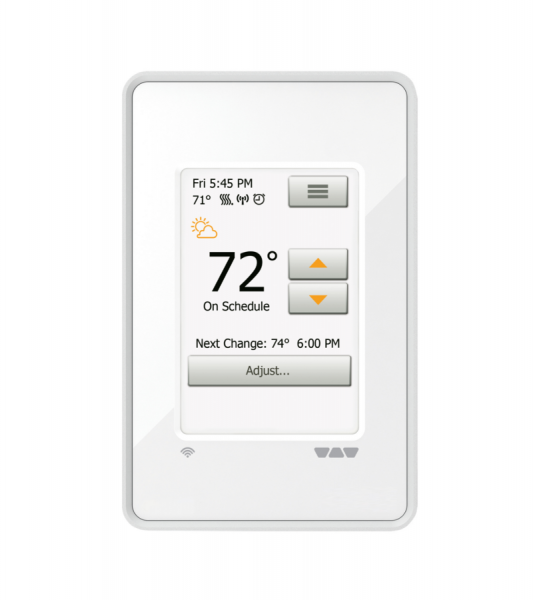 Schluter Systems Ditra-Heat Wi-Fi smart thermostat