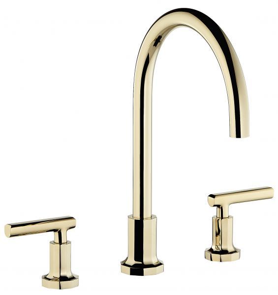 THG Paris Gilles & Boissier Les Ondes modern bath faucet