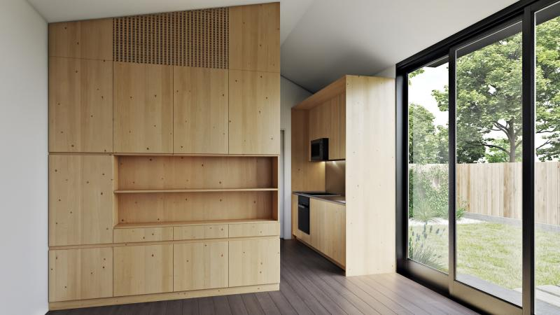 LivingHomes accessory dwelling unit interior