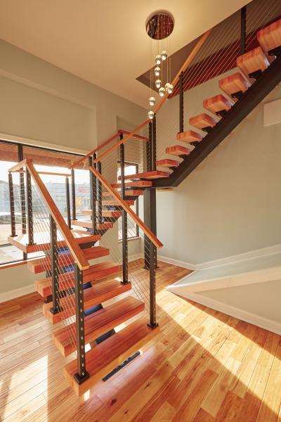 ViewRail floating staircase
