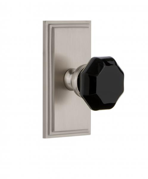 grandeur hardware Lyon knob in black