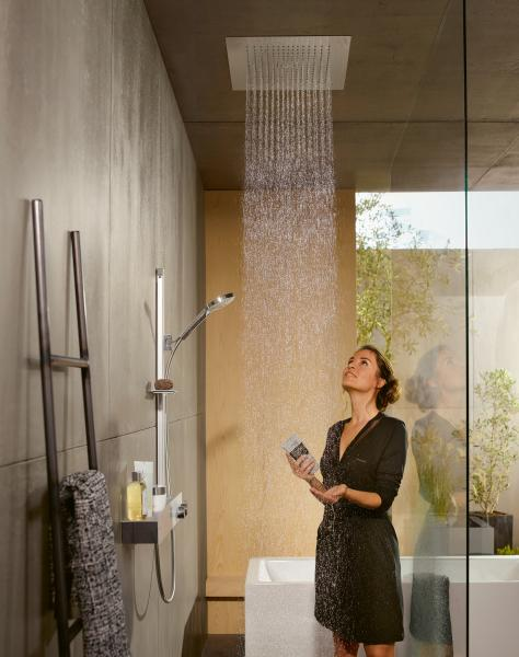 Hansgrohe Raindance E overhead rain shower