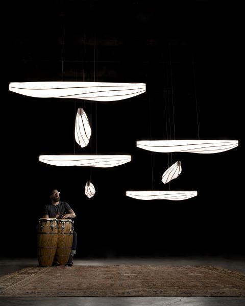 Cerno Lenis lighting pendant
